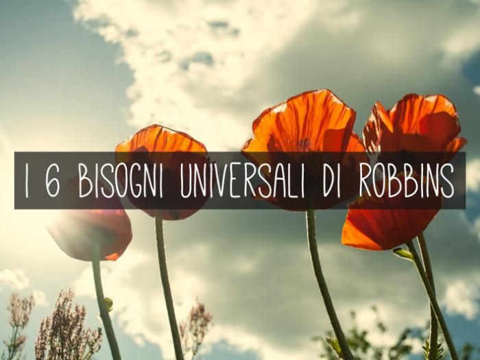 bisogni di Robbins